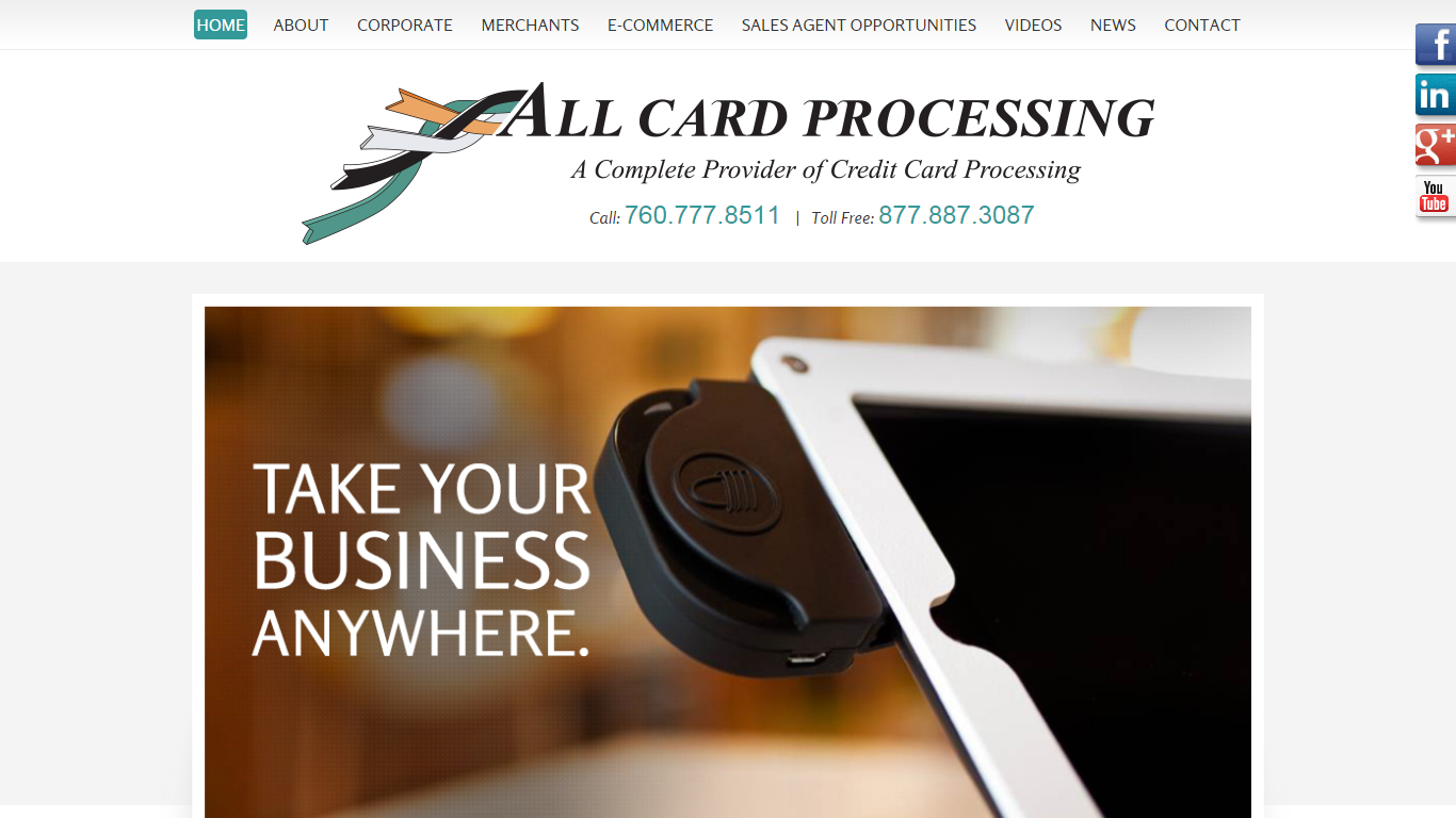 All Card Processing