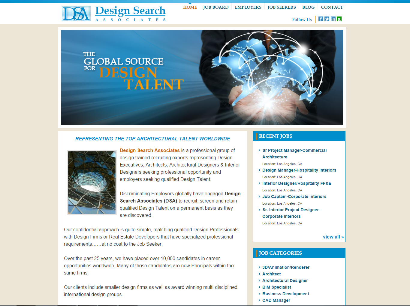 Design Search Associates - Architect Recruiter