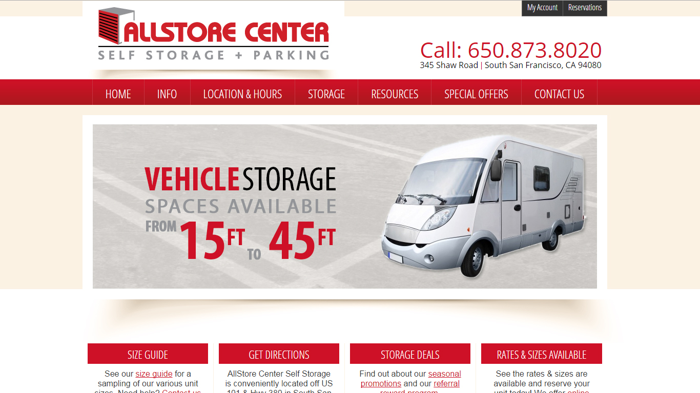 All Store Center - San Francisco Self Storage